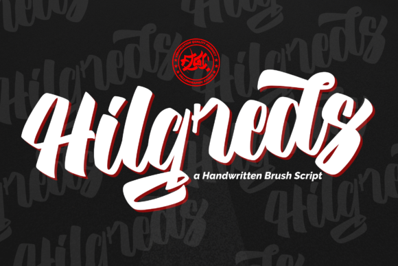Print on Demand: Hilgreds Script & Handwritten Font By Fallengraphic