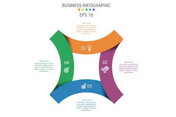 Infographic Template Vector Graphic Infographics By verry.etech