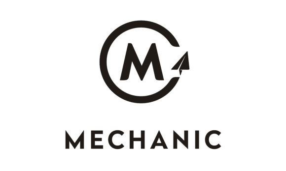 Download Free Initial M Mechanic Plane Aircraft Logo Graphic By Enola99d for Cricut Explore, Silhouette and other cutting machines.