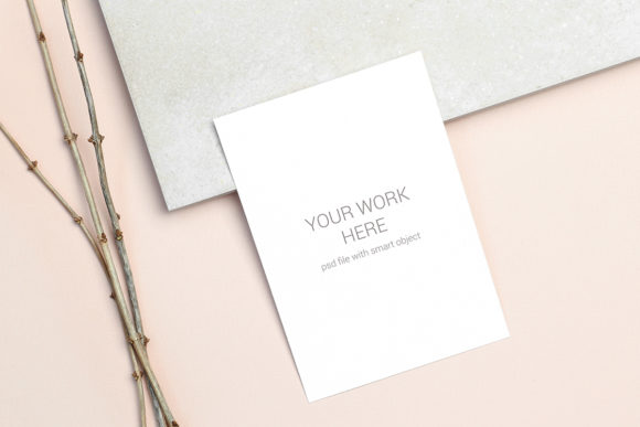Download Free Invitation Card Mockup Graphic By Pawmockup Creative Fabrica for Cricut Explore, Silhouette and other cutting machines.