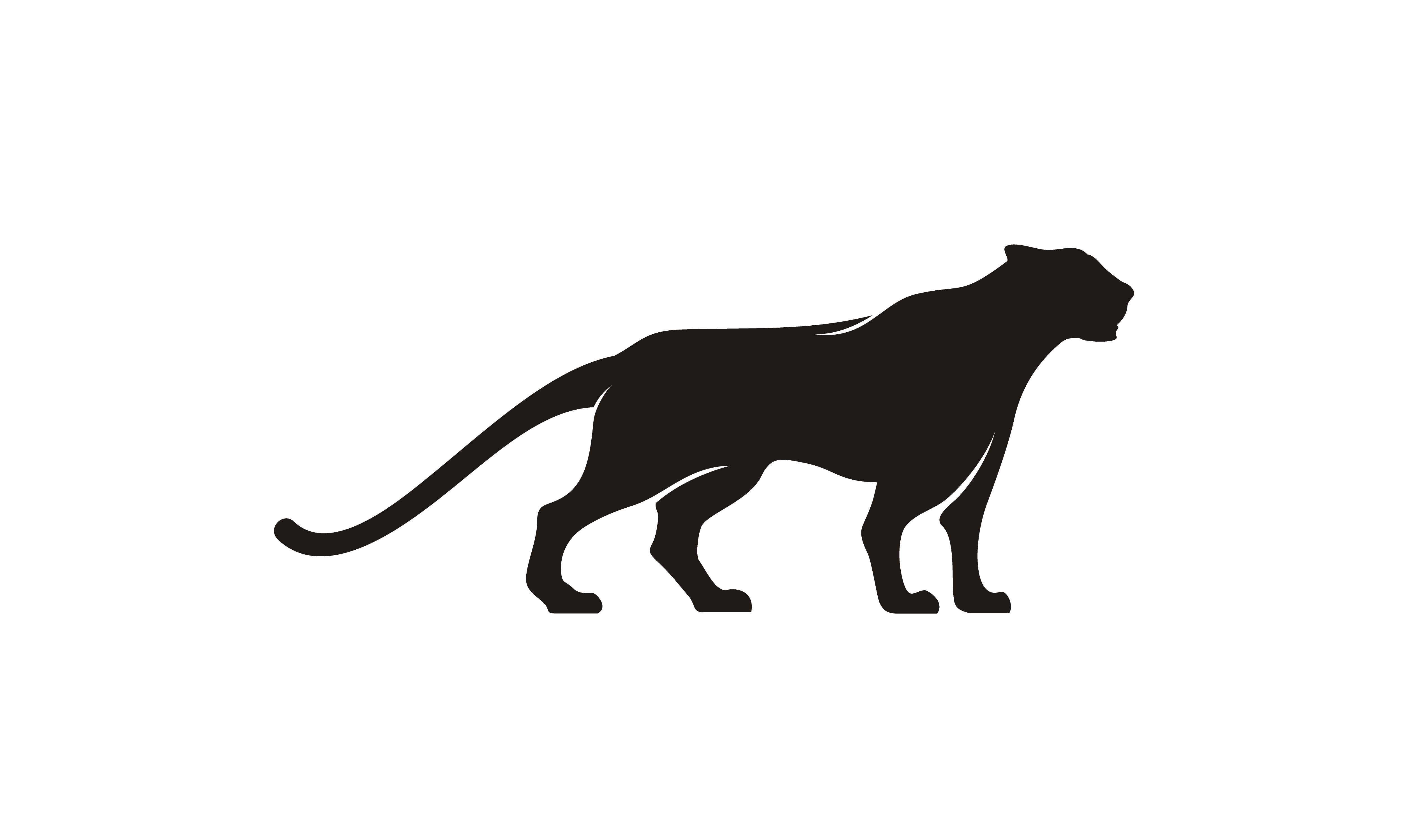 Download Free Jaguar Puma Lion Panther Silhouette Logo Graphic By Enola99d for Cricut Explore, Silhouette and other cutting machines.