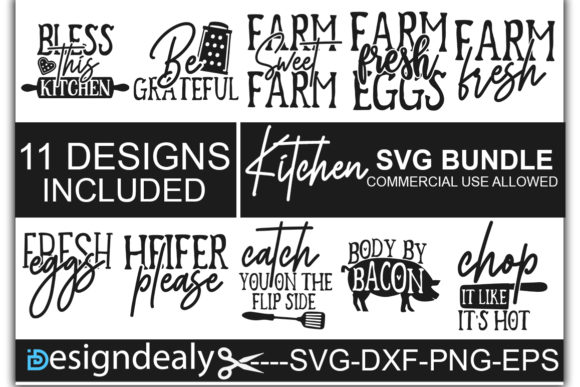 Download Free Kitchen Bundle Graphic By Designdealy Com Creative Fabrica for Cricut Explore, Silhouette and other cutting machines.