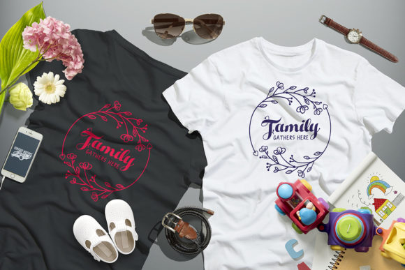 Download Free Love Family Quote Cut File Graphic By Millerzoa Creative Fabrica for Cricut Explore, Silhouette and other cutting machines.