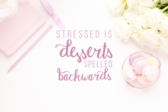 Print on Demand: Macaron Moment Script & Handwritten Font By amber_nest - Image 5