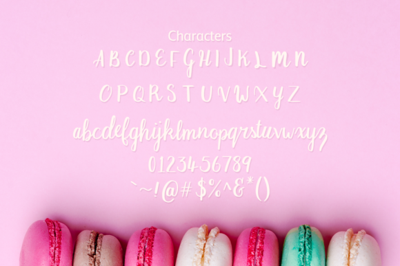 Print on Demand: Macaron Moment Script & Handwritten Font By amber_nest - Image 7