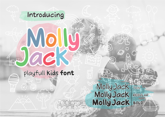 Print on Demand: Molly Jack Display Font By ketapelcreative