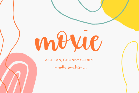 Print on Demand: Moxie Script & Handwritten Font By BeckMcCormick