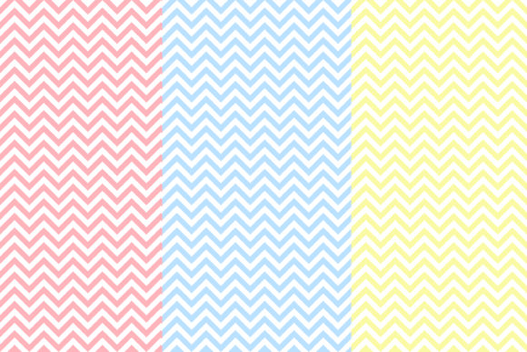 Download Free Pastel Chevron Seamless Patterns Graphic By Bonadesigns for Cricut Explore, Silhouette and other cutting machines.