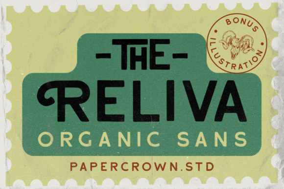 Print on Demand: Reliva Sans Serif Font By Rillatype