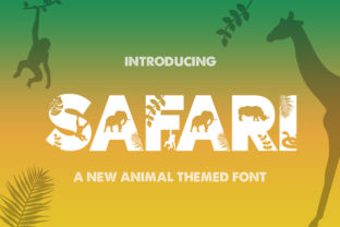 Print on Demand: Safari Display Font By Salt & Pepper Designs