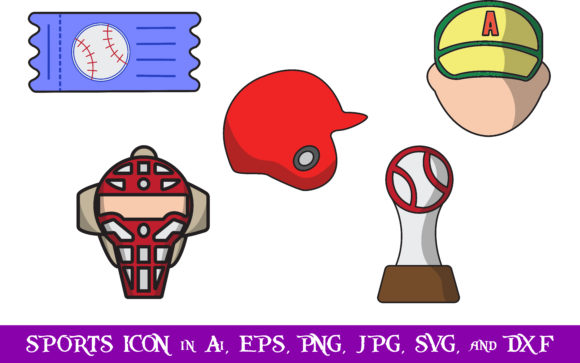 Download Free Sports Icon Bundle Graphic By Purplespoonpirates Creative Fabrica SVG Cut Files