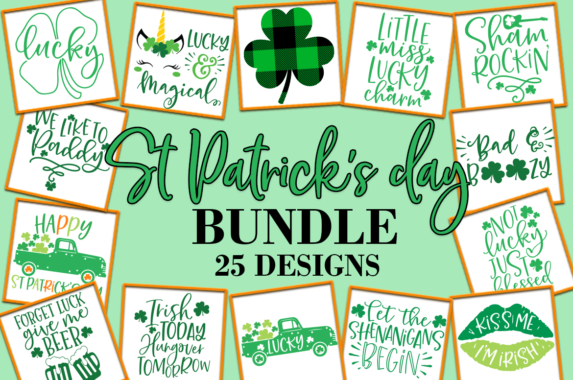 Download Free St Patrick S Day Quotes Sayings Graphic By Freelingdesignhouse Creative Fabrica for Cricut Explore, Silhouette and other cutting machines.