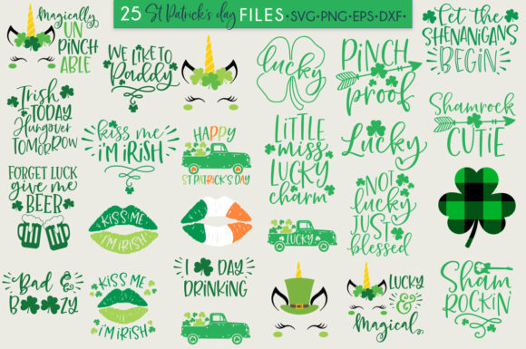 Download Free St Patrick S Day Quotes Sayings Graphic By Freelingdesignhouse for Cricut Explore, Silhouette and other cutting machines.