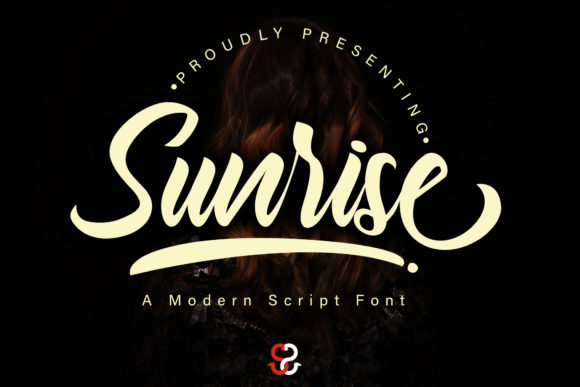 Print on Demand: Sunrise Script & Handwritten Font By Skiiller Studio
