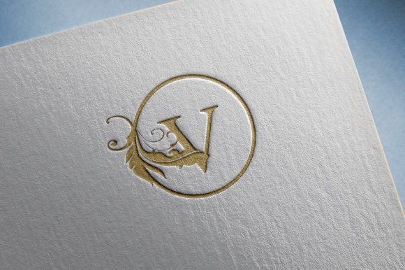 Download Free Vector Initial V Letter Luxury Logo Graphic By Tifon Studio for Cricut Explore, Silhouette and other cutting machines.