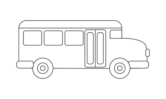 Ambulance Coloring Book Transportation Graphic Coloring Pages & Books Kids By DEEMKA STUDIO