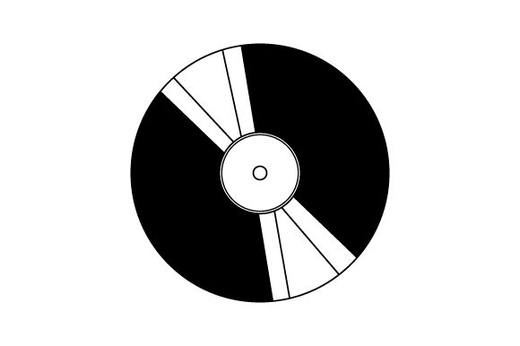 Download Free Vinyl Record Svg Cut File By Creative Fabrica Crafts Creative for Cricut Explore, Silhouette and other cutting machines.