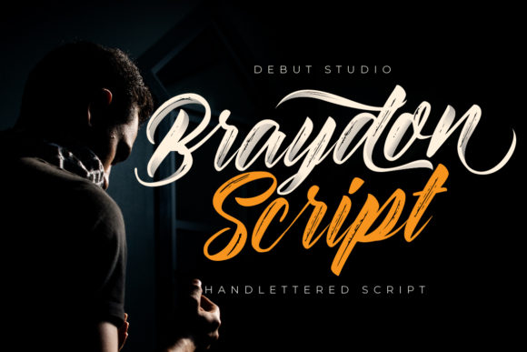Print on Demand: Braydon Script & Handwritten Font By Debut Studio