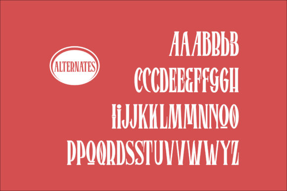 Print on Demand: Bromtone Serif Font By mrkhoir012 - Image 11