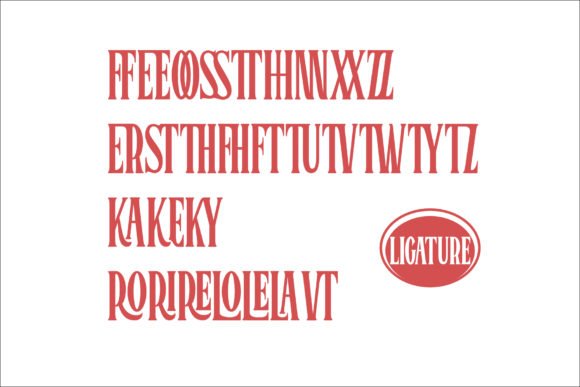 Print on Demand: Bromtone Serif Font By mrkhoir012 - Image 9