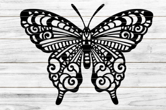 Butterfly Graphic Graphic Templates By seehas-design