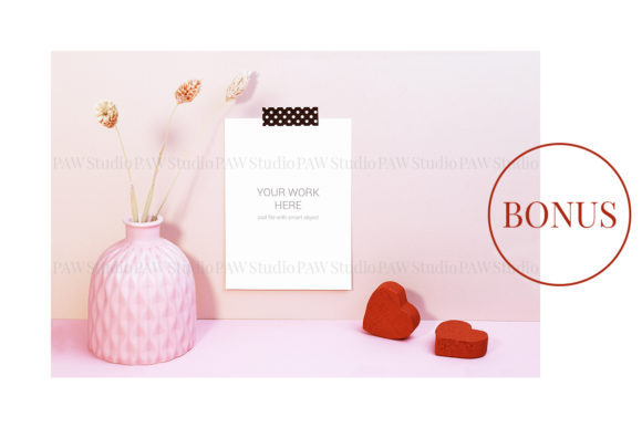 Download Free Card Mockup With Notebook Grafico Por Pawmockup Creative Fabrica for Cricut Explore, Silhouette and other cutting machines.