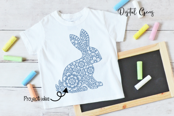Chinese Year of the Rabbit Design Graphic Crafts By Digital Gems - Image 4