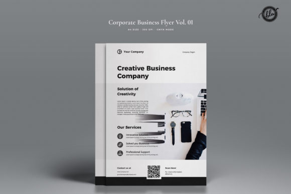 Print on Demand: Creative Flyer Vol. 01 Graphic Print Templates By Blancalab Studio