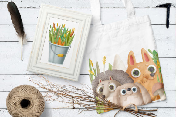 Print on Demand: Cute Little Animals Graphic Illustrations By Architekt_AT - Image 3