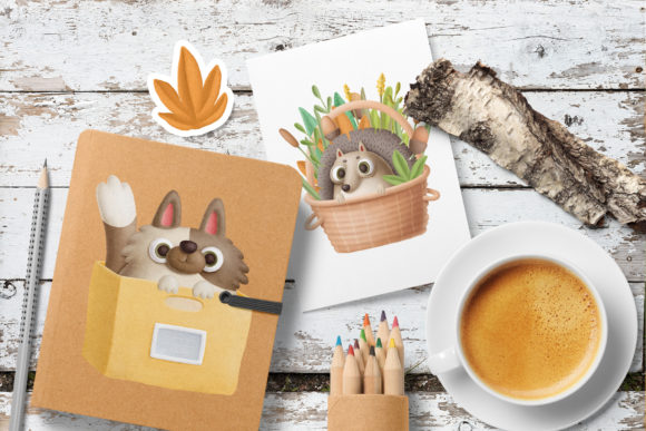 Print on Demand: Cute Little Animals Graphic Illustrations By Architekt_AT - Image 5