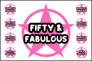 Download Free Fabulous T Shirt Bundle Graphic By Colorsplash Creative Fabrica for Cricut Explore, Silhouette and other cutting machines.