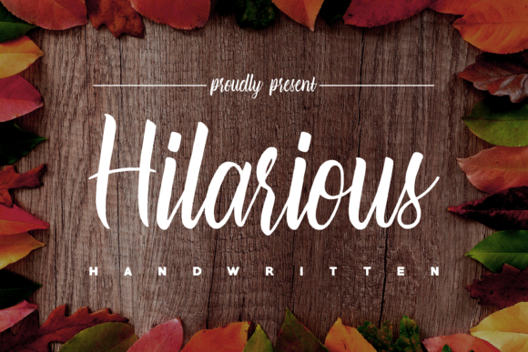 Print on Demand: Hilarious Script & Handwritten Font By NA CREATIVE