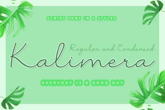 Print on Demand: Kalimera Script & Handwritten Font By airotype
