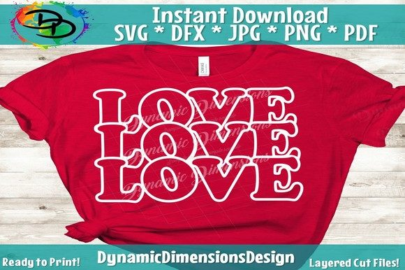 Print on Demand: Love is All You Need, Valentine's Graphic Crafts By dynamicdimensions
