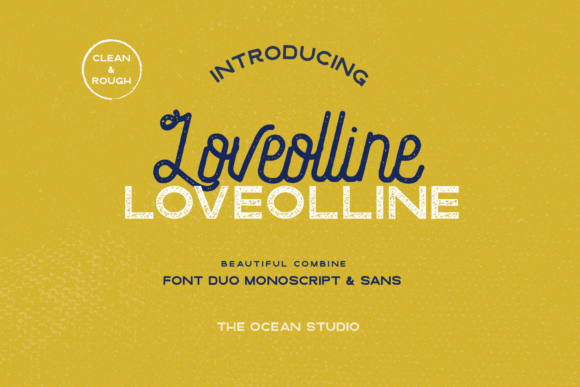 Print on Demand: Loveolline Script & Handwritten Font By The Ocean Studio