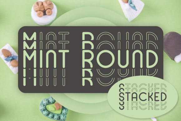 Print on Demand: Mint Round Display Font By Dasagani