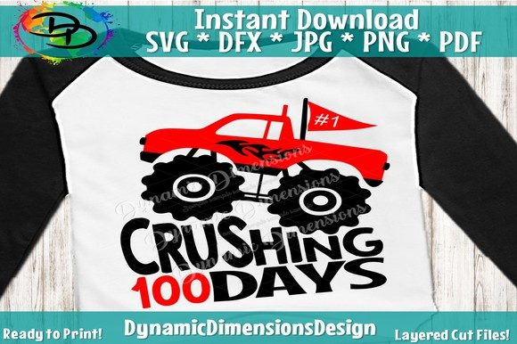 Download Free Monster Truck Graphic By Dynamicdimensions Creative Fabrica for Cricut Explore, Silhouette and other cutting machines.