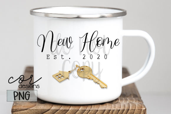 Print on Demand: New Home Est. 2020 Graphic Crafts By designscor