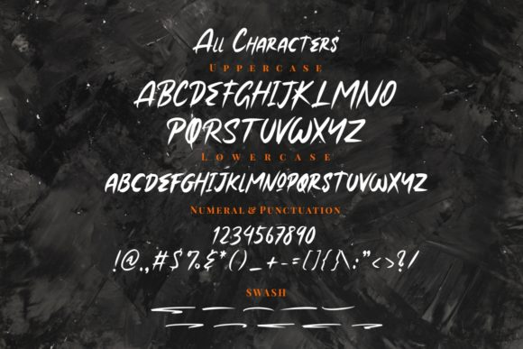 Print on Demand: Roxer Brush Display Font By putracetol - Image 7