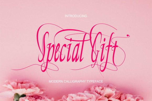 Print on Demand: Special Gift Script & Handwritten Font By Bot Kerling