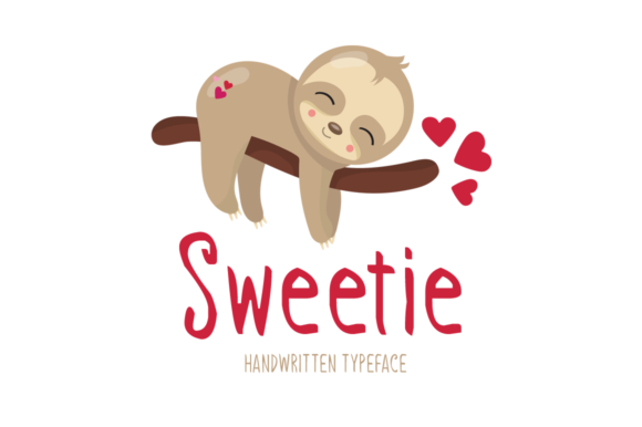 Print on Demand: Sweetie Display Font By Instagram Fonts