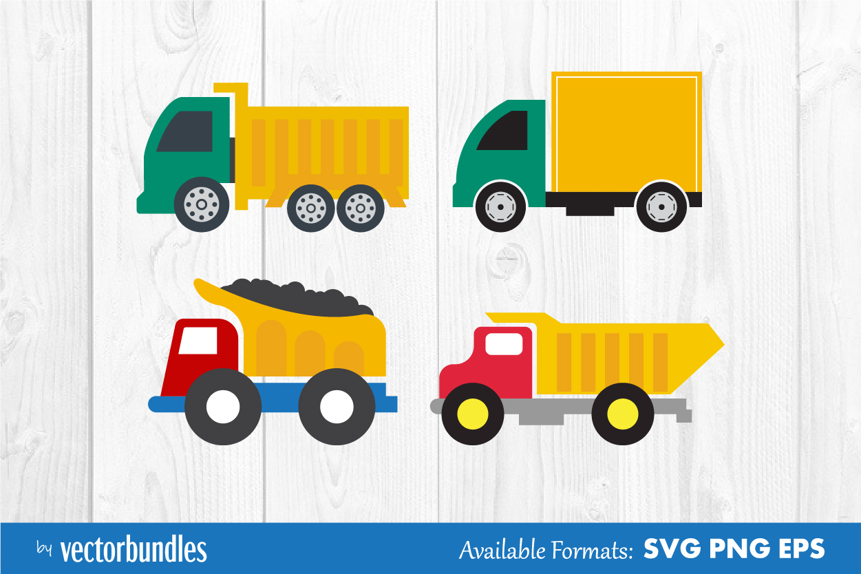 Download Free Truck Clip Art Graphic By Vectorbundles Creative Fabrica for Cricut Explore, Silhouette and other cutting machines.