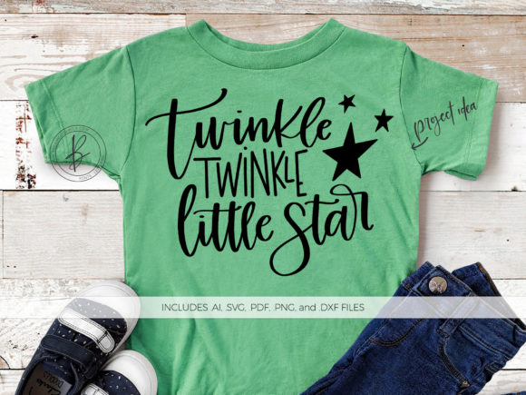 Print on Demand: Twinkle Twinkle Little Star Graphic Crafts By BeckMcCormick