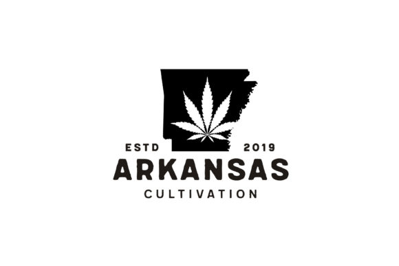 Download Free Us Arkansas Map Cbd Cannabis Leaf Logo Graphic By Enola99d Creative Fabrica for Cricut Explore, Silhouette and other cutting machines.