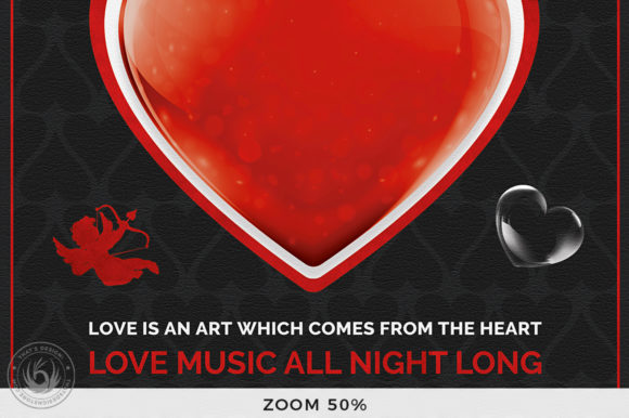 Valentines Day Flyer Template V24 Graphic Print Templates By ThatsDesignStore - Image 8