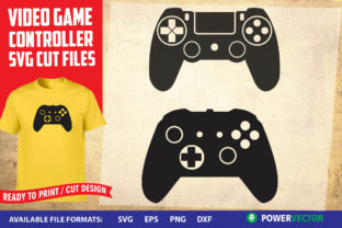 Video Game Controllers Graphic Crafts By PowerVECTOR