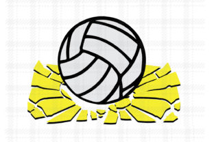 Volleyball Design Vector Logo Graphic By Johanruartist Creative Fabrica