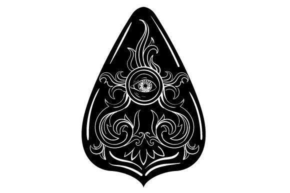 Download Free Planchette Design Svg Cut File By Creative Fabrica Crafts for Cricut Explore, Silhouette and other cutting machines.