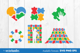 Autism Clip Art Graphic Crafts By vectorbundles