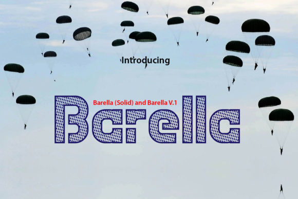Print on Demand: Barella Decorative Font By da_only_aan